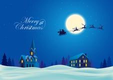 Fondo de la Navidad del día de fiesta Fotografía de archivo libre de regalías