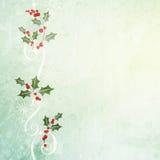 Fondo de la Navidad del Grunge Imagenes de archivo
