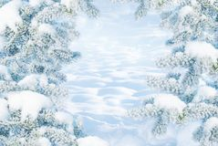 Fondo de la Navidad del invierno fotos de archivo libres de regalías