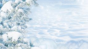 Fondo de la Navidad del invierno imagen de archivo