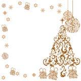 Fondo de la Navidad del oro