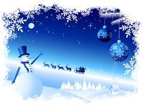 Fondo de la Navidad del vector Fotos de archivo libres de regalías