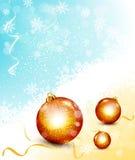 Fondo de la Navidad del vector Imagen de archivo