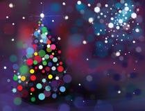 Fondo de la Navidad del vector Foto de archivo libre de regalías