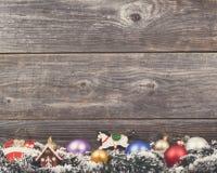 Fondo de la Navidad del vintage Fotografía de archivo libre de regalías