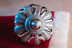 Fondo de la Navidad, juguete, abrigo de la hoja, Imagen de archivo
