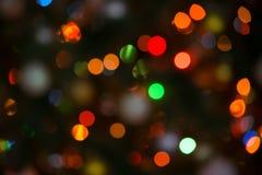 Fondo de la Navidad de luces enmascaradas foto de archivo
