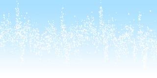 Fondo de la Navidad de la nieve que cae que sorprende sutil ilustración del vector