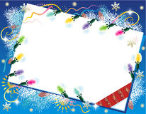 Fondo de la Navidad o del Año Nuevo Imagenes de archivo