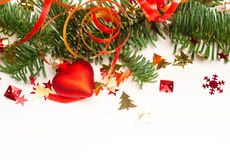 Fondo de la Navidad o del Año Nuevo Fotos de archivo libres de regalías