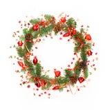 Fondo de la Navidad o del Año Nuevo Foto de archivo libre de regalías