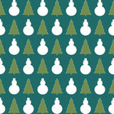 Fondo de la Navidad/papel de embalaje Foto de archivo libre de regalías