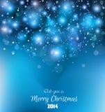 ¡Fondo de la Navidad para los saludos! Foto de archivo libre de regalías