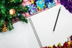 Fondo de la Navidad para su diseño Foto de archivo libre de regalías