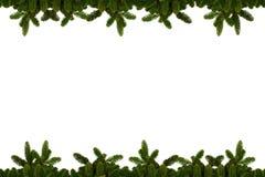 Fondo de la Navidad - ramas del abeto Imagen de archivo libre de regalías