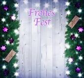 Fondo de la Navidad, regalos de la Navidad Imagen de archivo libre de regalías