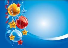 Fondo de la Navidad. Vector. Foto de archivo libre de regalías
