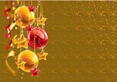 Fondo de la Navidad. Vector. Imágenes de archivo libres de regalías