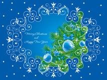 Fondo de la Navidad. Vector. Fotos de archivo libres de regalías