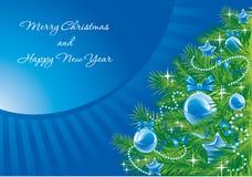 Fondo de la Navidad. Vector. Imagen de archivo libre de regalías