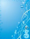Fondo de la Navidad, vector Fotos de archivo