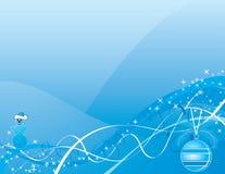 Fondo de la Navidad, vector Imagen de archivo