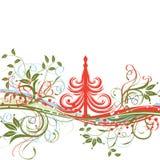 Fondo de la Navidad, vector Foto de archivo libre de regalías