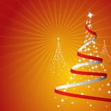 Fondo de la Navidad (vector) Imagen de archivo