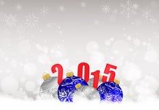 Fondo de la Navidad y de la Feliz Año Nuevo Foto de archivo libre de regalías