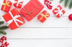 Fondo de la Navidad y del Año Nuevo Fotografía de archivo