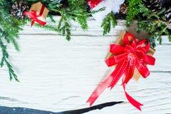 Fondo de la Navidad y del Año Nuevo Imagenes de archivo