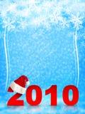 Fondo de la Navidad y del Año Nuevo stock de ilustración