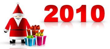 Fondo de la Navidad y del Año Nuevo ilustración del vector