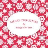 Fondo de la Navidad y del Año Nuevo Fotos de archivo