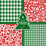 Fondo de la Navidad y del Año Nuevo Imágenes de archivo libres de regalías