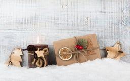 Fondo de la Navidad y del Año Nuevo Imagen de archivo libre de regalías