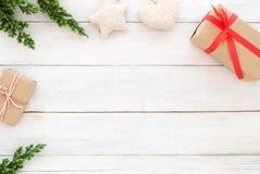 Fondo de la Navidad y del Año Nuevo Fotos de archivo libres de regalías
