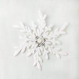 Fondo de la Navidad y del Año Nuevo snowflake Copie el espacio Fotos de archivo libres de regalías