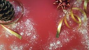 Fondo de la Navidad y del día de fiesta Foto de archivo
