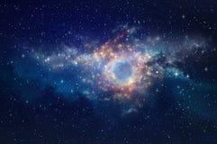 Fondo de la nebulosa del espacio Fotografía de archivo libre de regalías