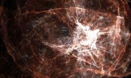 Fondo de la nebulosa del espacio Fotos de archivo libres de regalías