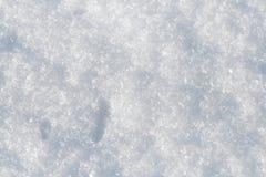 Fondo de la nieve Foto de archivo libre de regalías