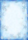 Fondo de la nieve