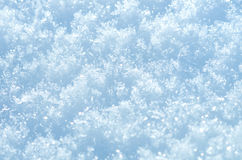 Fondo de la nieve Fotografía de archivo libre de regalías