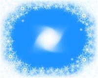 Fondo de la nieve de la Navidad Fotos de archivo
