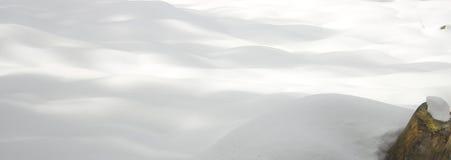 Fondo de la nieve fresca imagenes de archivo