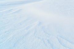 Fondo de la nieve fresca Foto de archivo