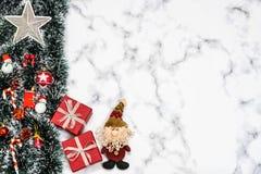 Fondo de la nieve de la Navidad imagen de archivo libre de regalías