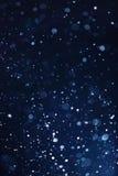 Fondo de la nieve que cae Imagenes de archivo