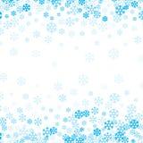 Fondo de la nieve que cae para el diseño de la Navidad y de la Feliz Año Nuevo imagenes de archivo